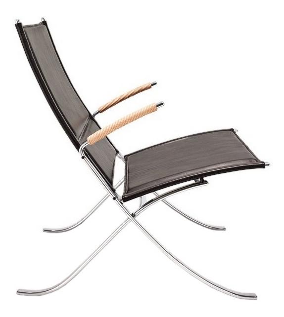 FK 82 X-Chair Lange Production Poltrona