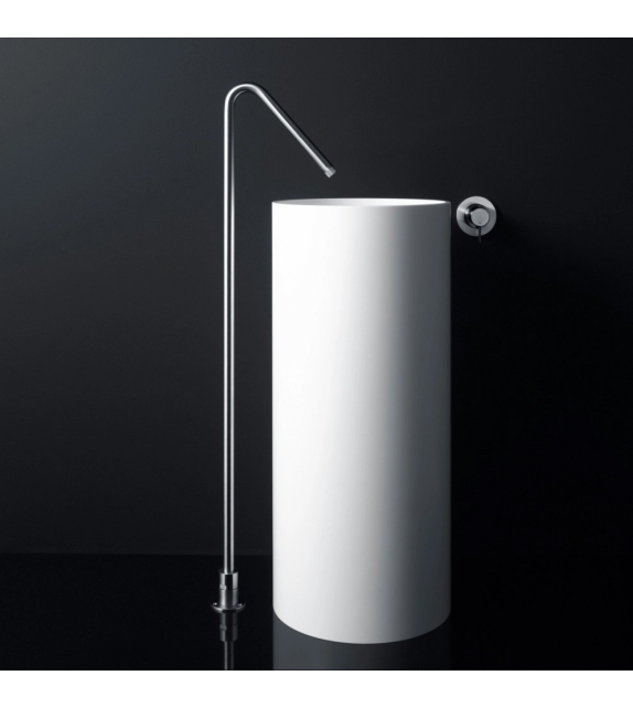 Minimal Boffi Floor-Mounted Spout for Washbasin