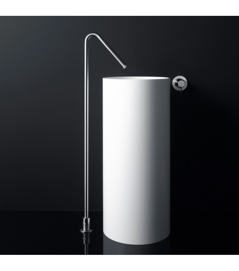 Minimal Boffi Floor-Mounted Spout for Washbasin