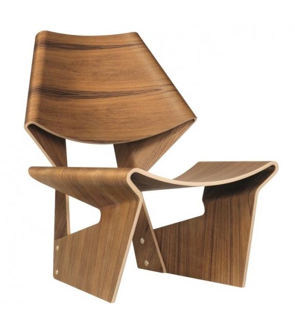 GJ Bow Chair Lange Production Sedia
