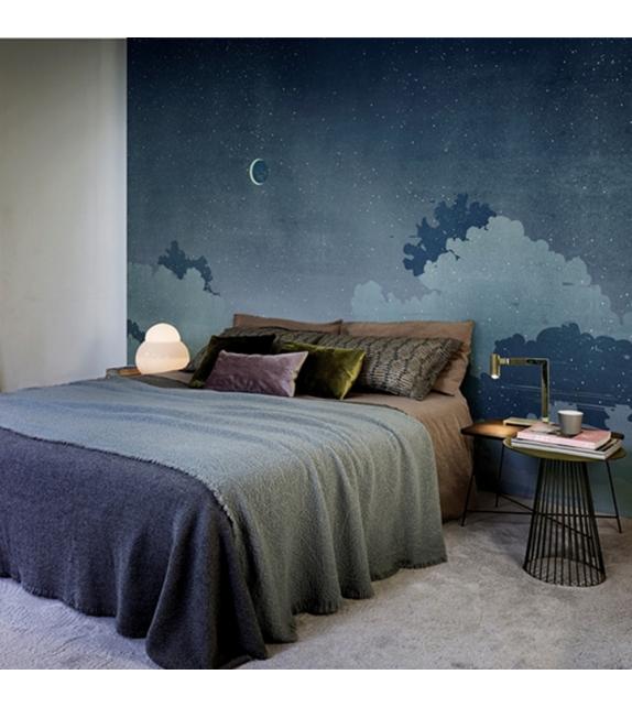 Notturno blu wall dec carta da parati milia shop for Prezzo carta da parati wall and deco