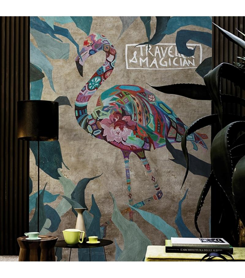 Pink Wind Wall&Decò Carta da Parati