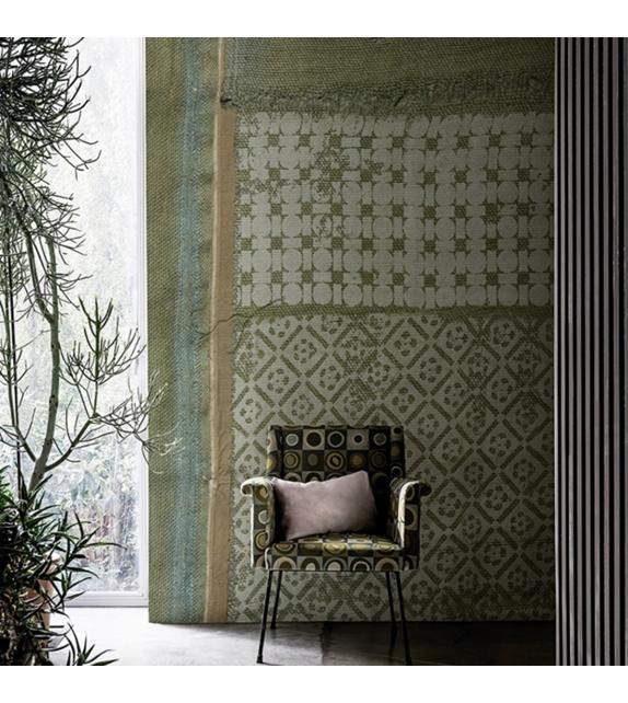 Canvas Bouquet Wallpaper Wall&Decò