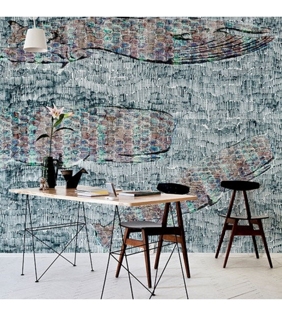 Pencil Birds Wall&Decò Papier Peint