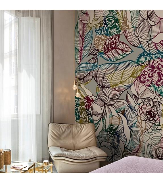 Fleur Des Amériques Wall&Decò Wallpaper