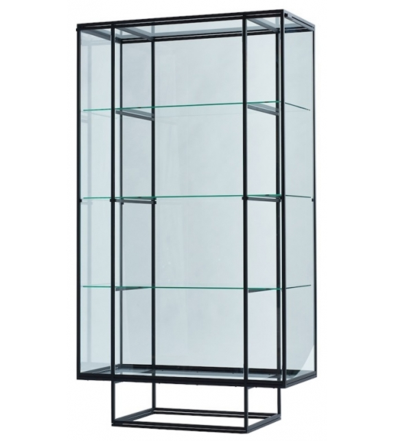Tangled Spectrum Glass Cabinet