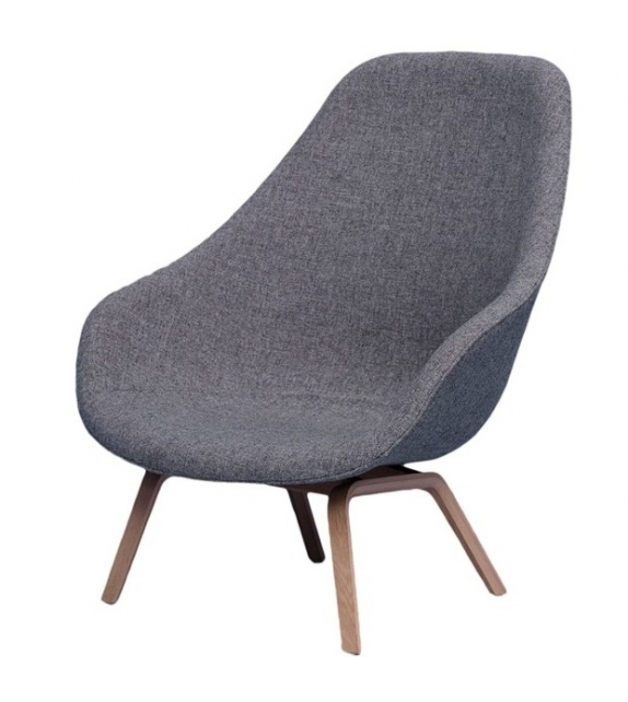 About a Lounge Chair High AAL 93 Hay Armchair