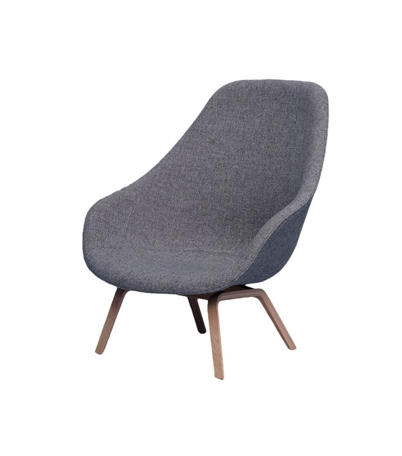 Hay about a lounge chair high aal 93 armchair milia shop for Chaise longue design exterieur