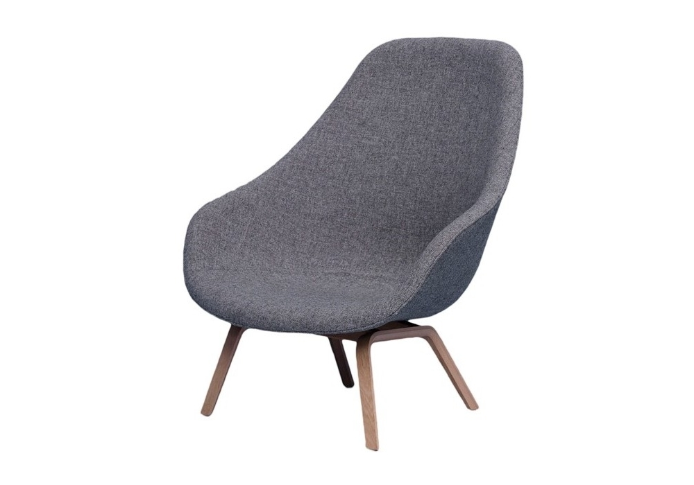 Hay Lounge Stoel.Hay About A Lounge Chair High Aal 93 Sessel