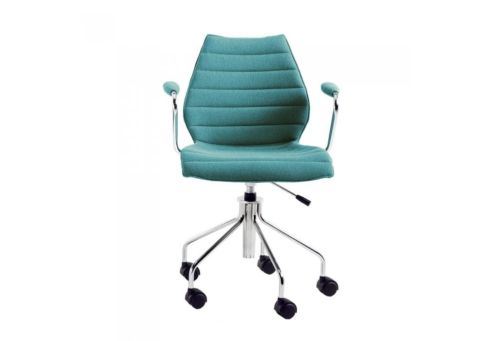 Maui soft kartell stuhl auf rädern milia shop
