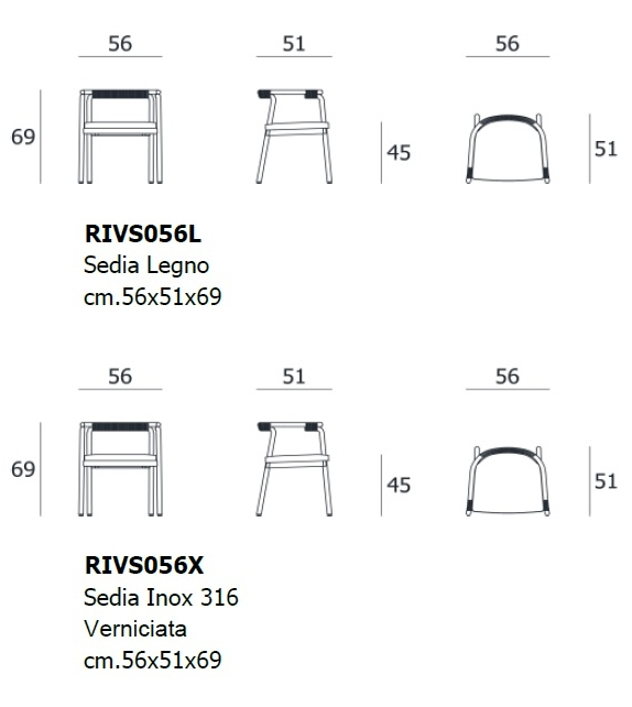 Rivulet Living Divani Stuhl