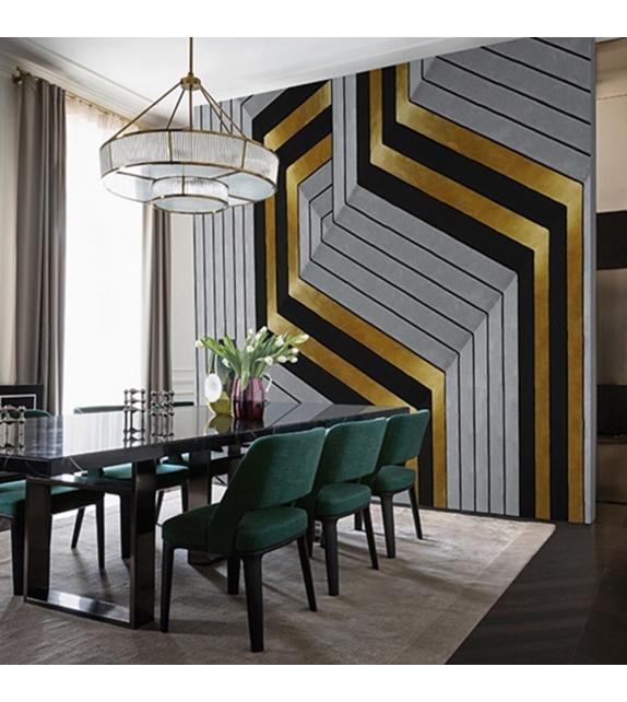Golden Hook Wallpaper Wall&Decò