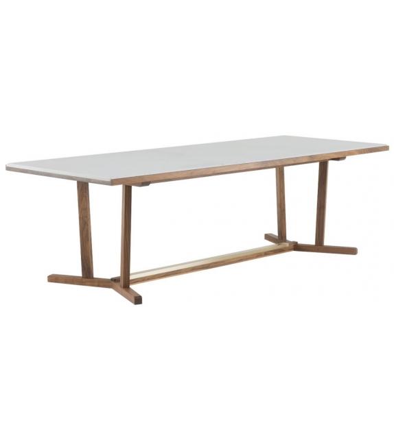 Shaker De La Espada Table with Marble Top
