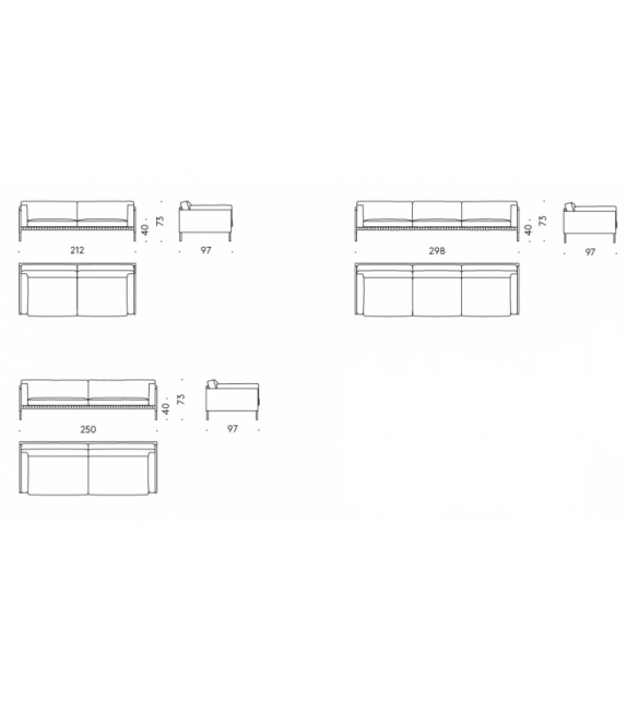 Étiquette DePadova Sofa