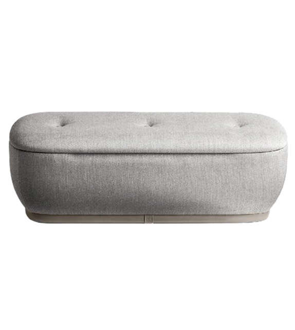 Leplì Poltrona Frau Pouf with Storage Unit