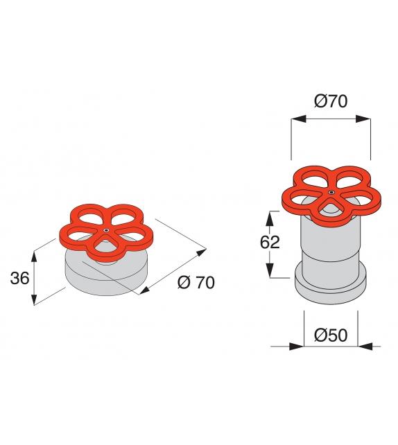 Pipe Boffi Top-mounted Washbasin Mixer Tap
