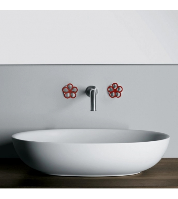 Boffi Pipe Wall-mounted Tap Pair