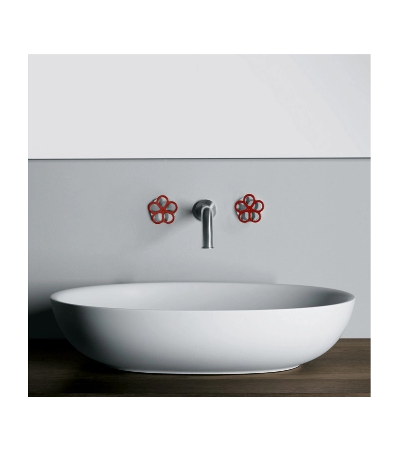 Pipe Boffi Wall-mounted Tap Pair