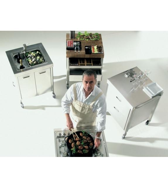 Composizione 70 Alpes Inox Kitchen