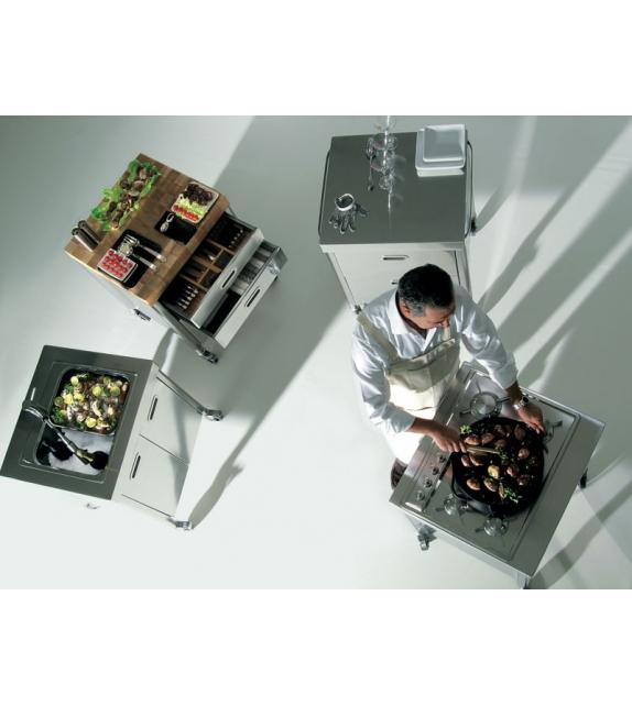 Composizione 70 Alpes Inox Cocina