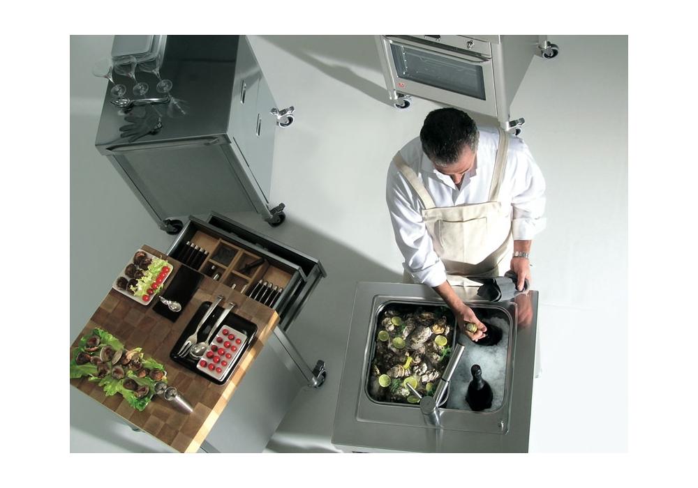 Zusammenstellung Küche 70 Alpes Inox - Milia Shop