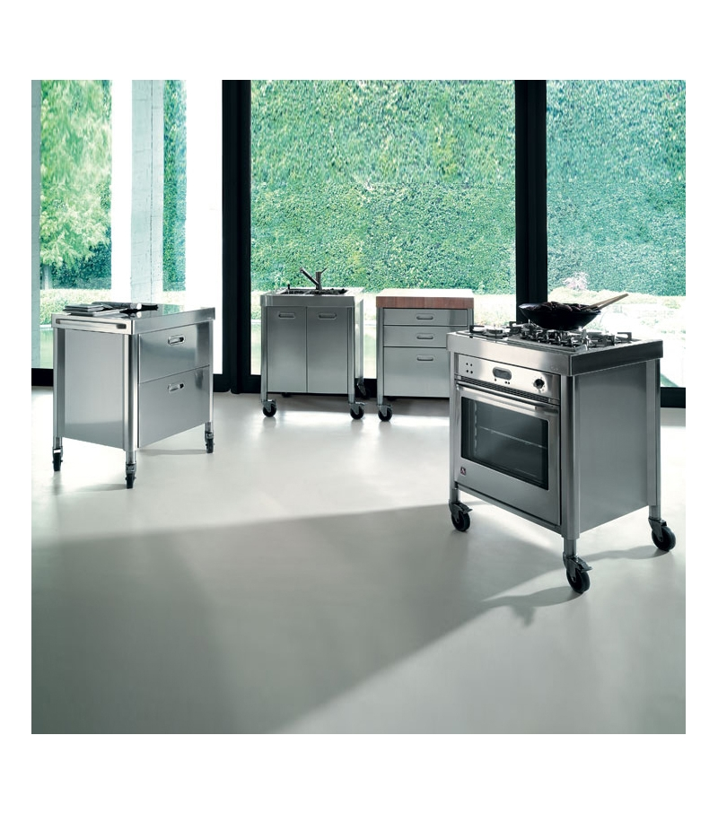 alpes inox kitchen 70 combined milia shop. Black Bedroom Furniture Sets. Home Design Ideas