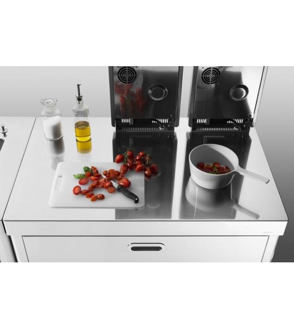 Zusammenstellung Küche 100 Alpes Inox