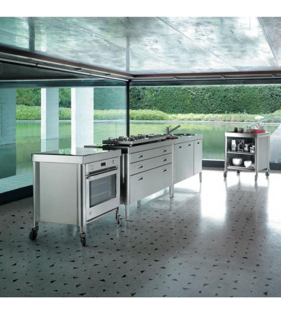 Composizione Cucina 130 Alpes Inox