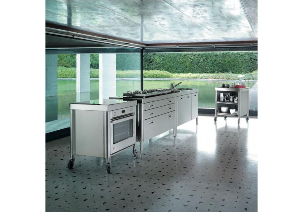 Composizione Cucina 130 Alpes Inox - Milia Shop
