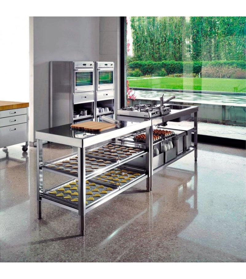 Cucina 160 Alpes Inox - Milia Shop