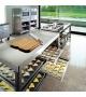 Küche 160 Alpes Inox