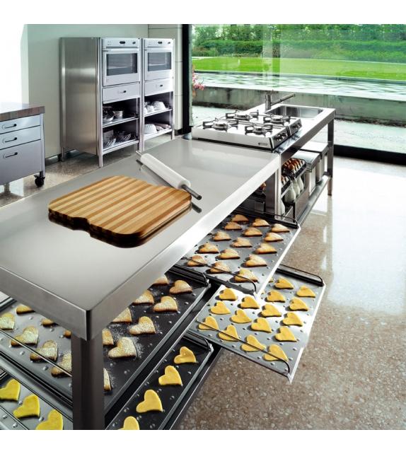 Cucina 160 Alpes Inox