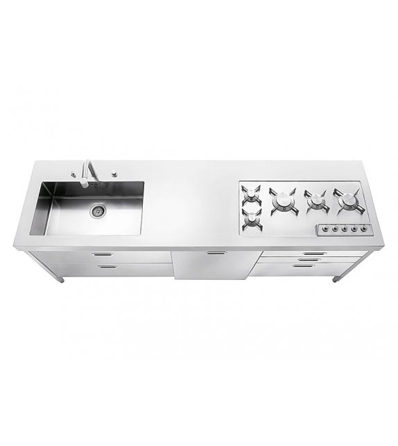 Alpes Inox Kitchen 220