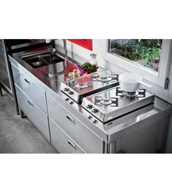 Küche 190 Alpes Inox