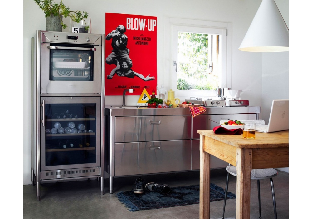 Cucine 190 Alpes Inox - Milia Shop