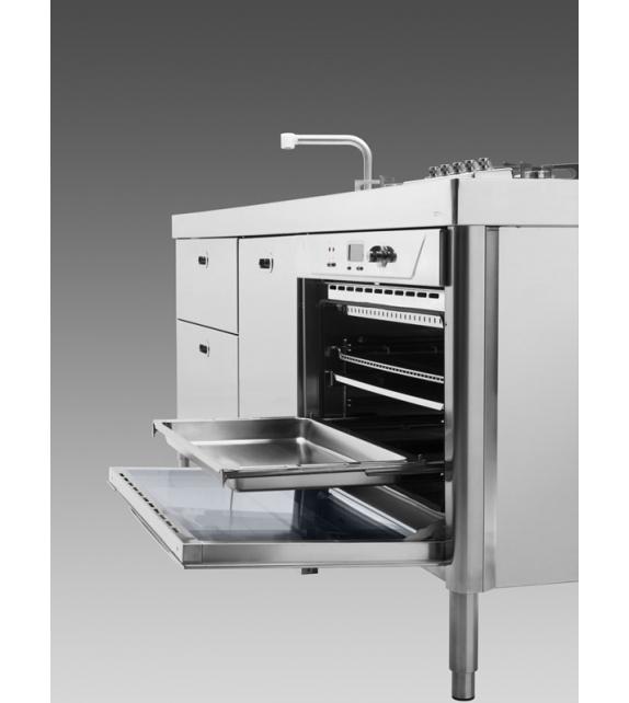Küche 250 Alpes Inox