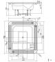 MySpa 0F250/225 Glass1989 Overflow Spa
