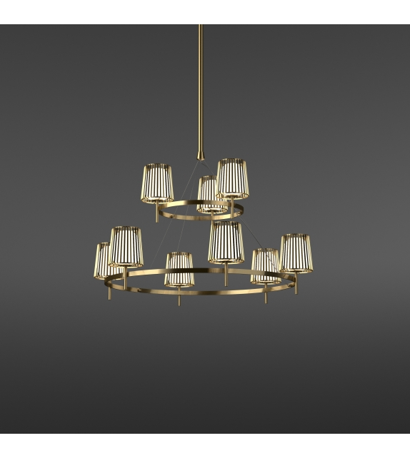 Julia Quasar Chandelier