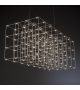 Cosmos Square Quasar Suspension Lamp