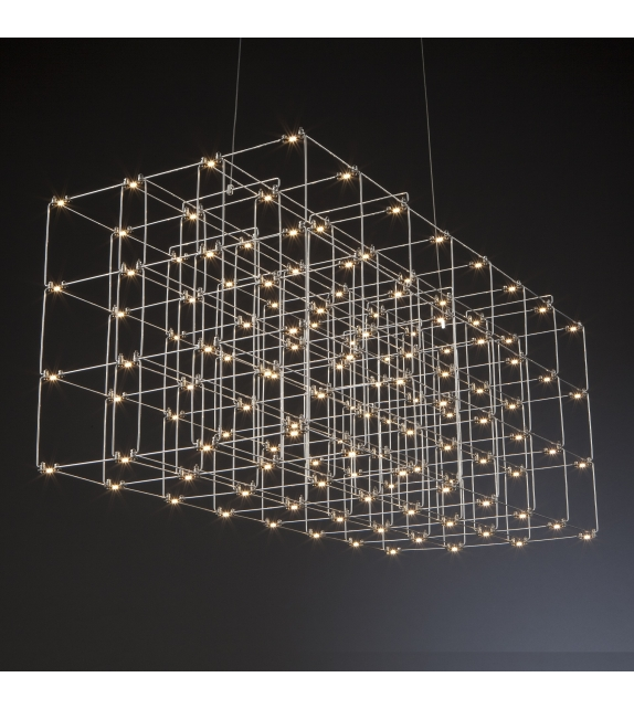 Cosmos Square Quasar Lampada a Sospensione