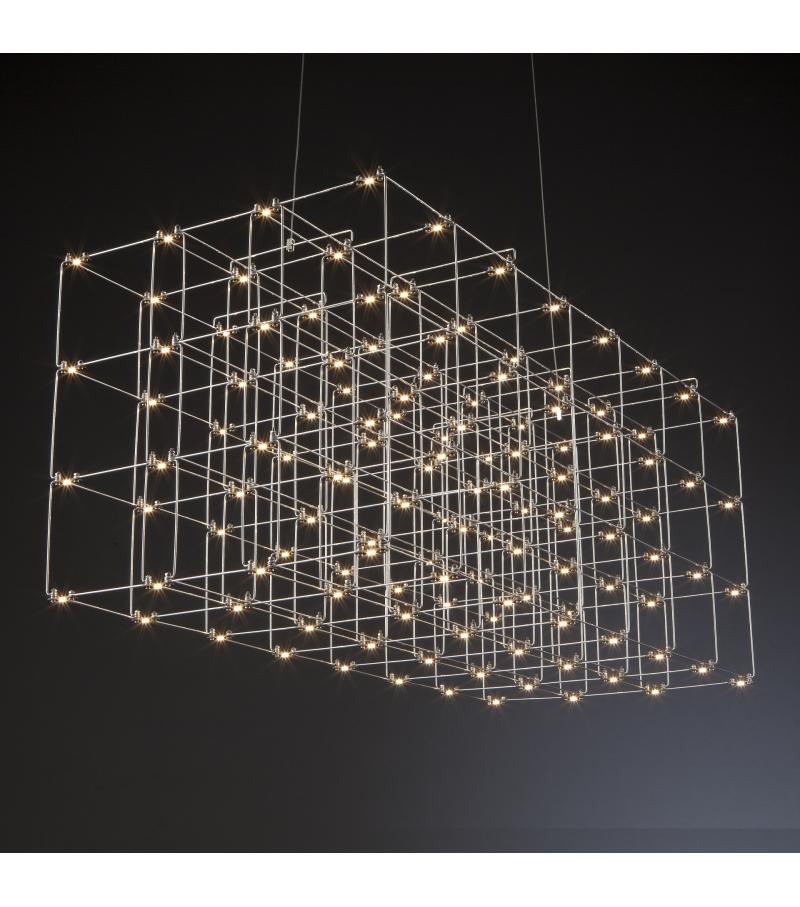 Cosmos Square Quasar Lámpara de Suspensión