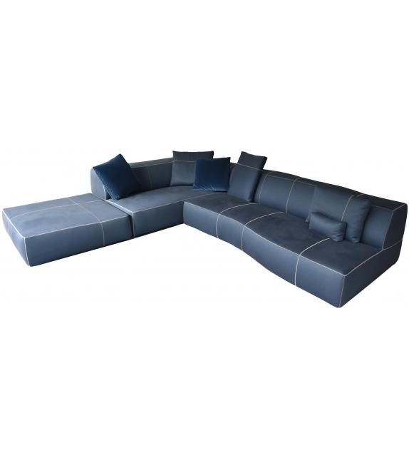 B&B Italia Bend-Sofa Divano