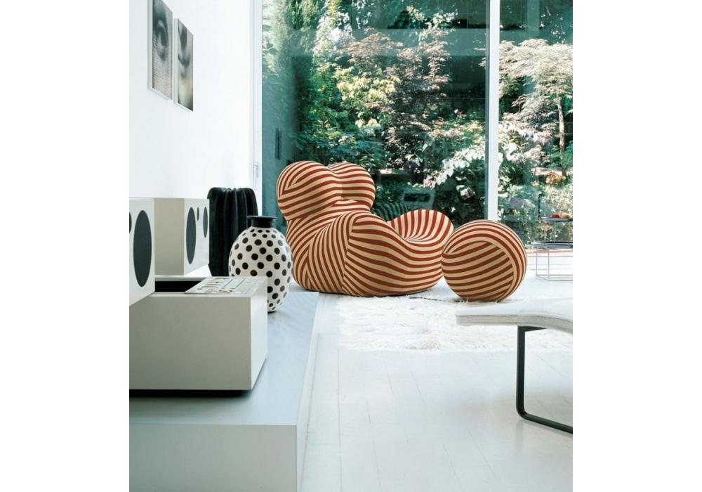 b b italia serie up 2000 fauteuil milia shop. Black Bedroom Furniture Sets. Home Design Ideas
