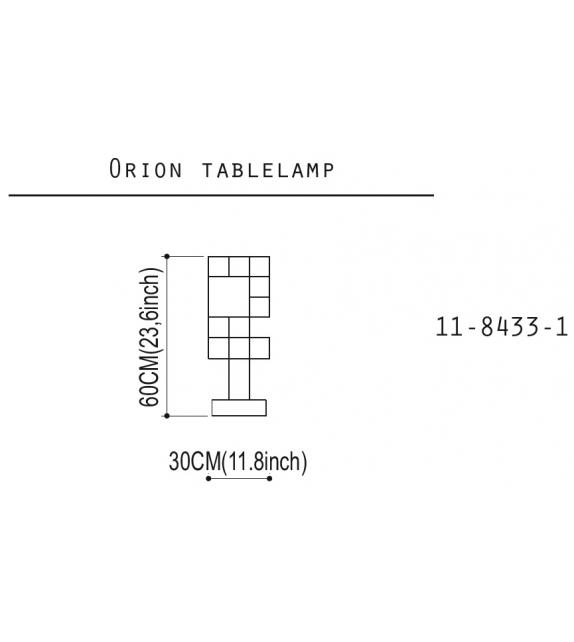 Orion Quasar Tischleuchte