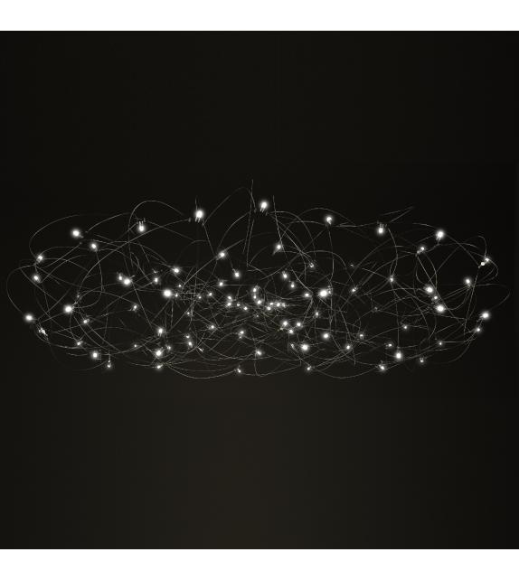 Curled Quasar Suspension Lamp