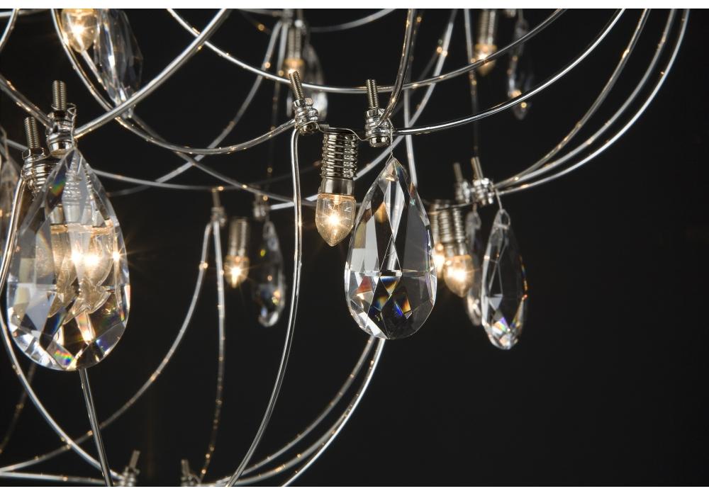 Crystal Galaxy Quasar Suspension Lamp - Milia Shop
