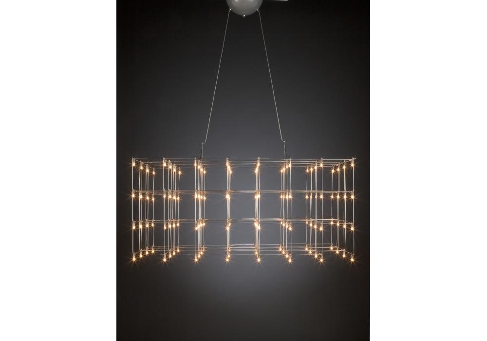Universe Square Quasar Suspension Lamp