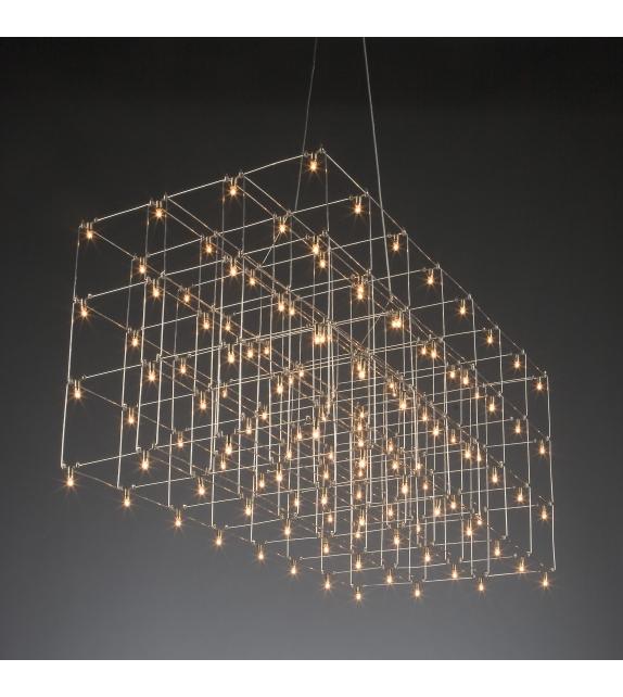 Universe Square Quasar Lámpara de Suspensión