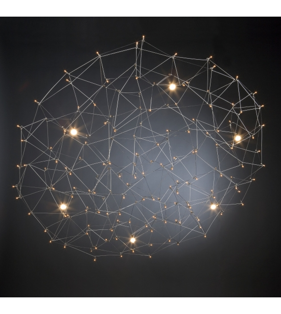 Universe Disc Quasar Lampada a Sospensione