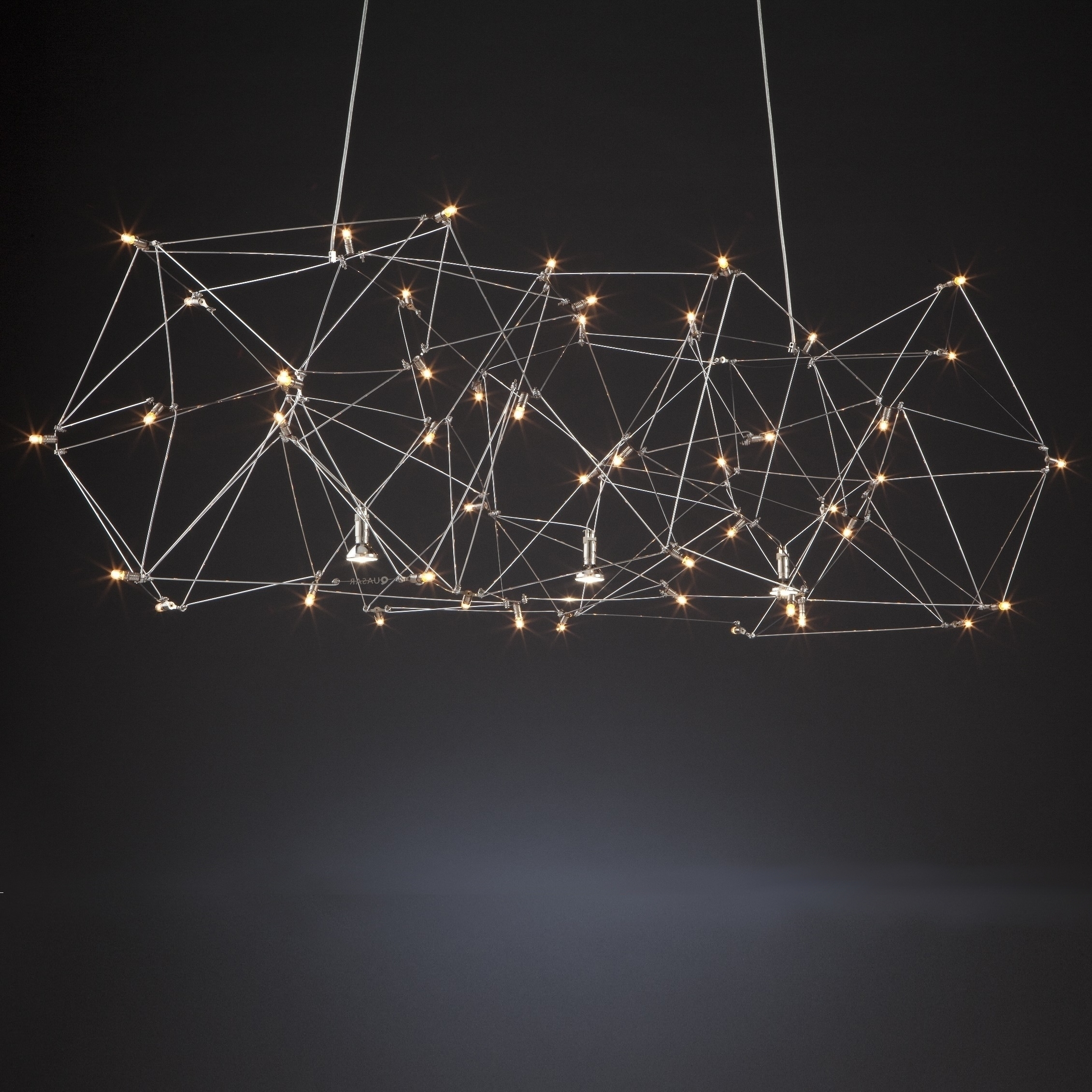 Universe Quasar Suspension Lamp Milia